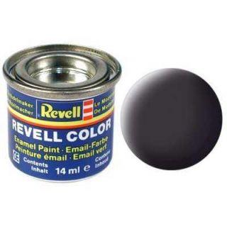 Farba Revell emailová - 32106: matná čierna asfaltová (tar mat)