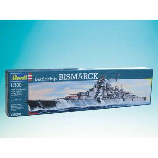 Plastic ModelKit loď 05098 - Battleship Bismarck (1: 700)