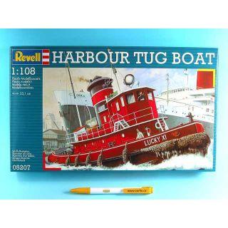 Plastic ModelKit loď 05207 - Harbour Tug Boat (1: 108)