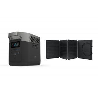 EcoFlow Delta 1300 Black, 220-240V + solární panel 110W