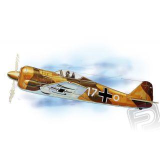 Focke-Wulf FW-190 (654mm) laser.vyřezávaný