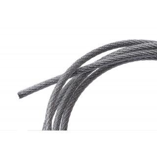 Nylon-ocelové lanko 2mm, délka 10 metrů