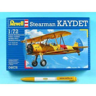 Plastic ModelKit lietadlo 04676 - Stearman KAYDET (1:72)