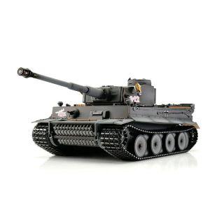 TORRO tank PRO 1/16 RC Tiger I dřívejší verze šedá kamufláž - infra IR