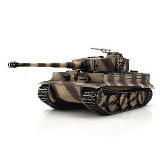 TORRO tank PRO 1/16 RC Tiger I pozdní verze pouštní kamufláž - infra IR
