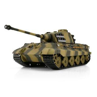 TORRO tank PRO 1/16 RC Königstiger kamufláž - infra IR