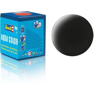 Farba Revell akrylová - 36108: matná čierna (black mat)