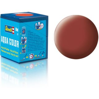 Farba Revell akrylová - 36137: matná červenohnedej (Reddish brown mat)