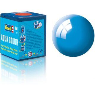 Farba Revell akrylová - 36150: lesklá svetlo modrá (light blue gloss)