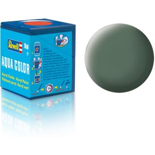 Farba Revell akrylová - 36167: matná zelenkavo sivá (Greenish grey mat)