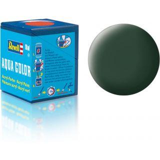 Farba Revell akrylová - 36168: matná tmavo zelená (dark green mat RAF)
