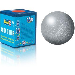 Farba Revell akrylová - 36191: metalická oceľová (steel metallic)