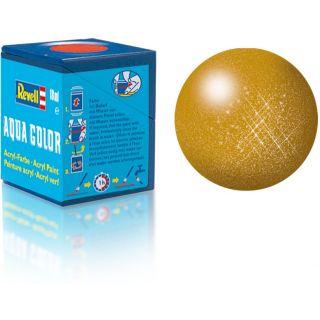 Farba Revell akrylová - 36192: metalická mosadzná (brass metallic)