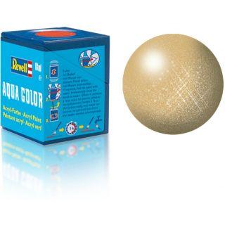 Farba Revell akrylová - 36194: metalická zlatá (gold metallic)