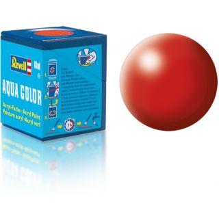 Farba Revell akrylová - 36330: hodvábna ohnivo červená (fiery red silk)