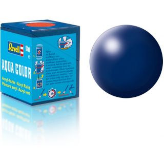 Farba Revell akrylová - 36350: hodvábna tmavo modrá (dark blue silk)