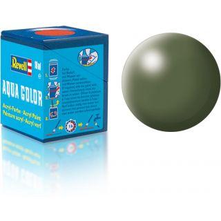 Farba Revell akrylová - 36361: hodvábna olivovo zelená (olive green silk)