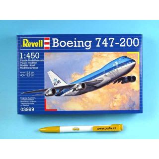 Plastic ModelKit lietadlo 03999 - Boeing 747-200 Jumbo Jet (1: 450)