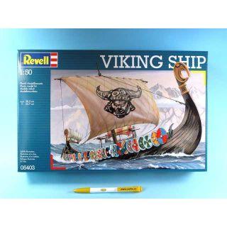 Plastic modelKit loď 05403 - loď  Vikingů  (1:50)