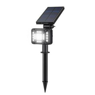 External Blitzwolf LED solar lamp BW-OLT5 with dusk sensor, 1800mAh, RGB
