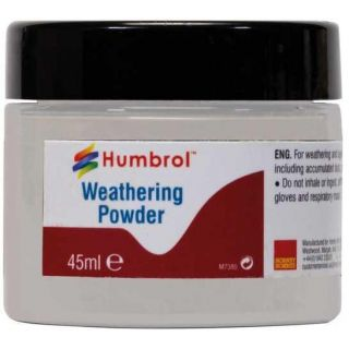 Humbrol Weathering Powder White AV0012 - pigment pro efekty 45ml