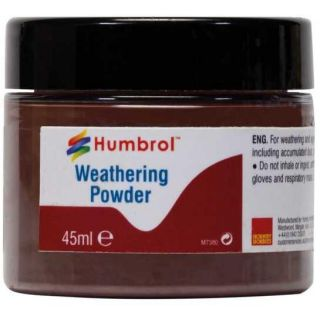 Humbrol Weathering Powder Dark Earth AV0017 - pigment pro efekty 45ml