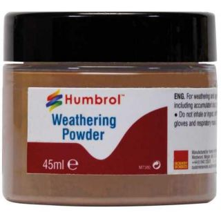 Humbrol Weathering Powder Light Rust AV0018 - pigment pro efekty 45ml