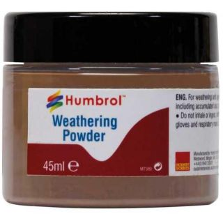 Humbrol Weathering Powder Dark Rust AV0019 - pigment pro efekty 45ml