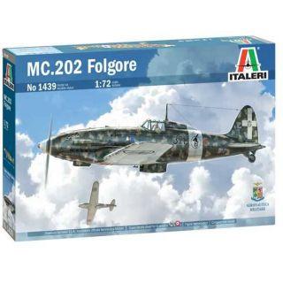 Model Kit letadlo 1439 - MC 202 Folgore (1:72)