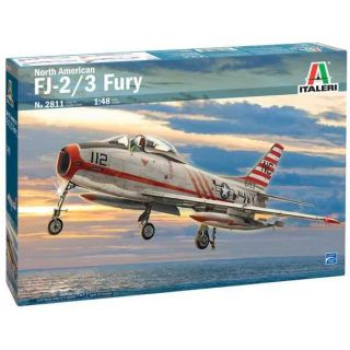 Model Kit letadlo 2811 - North American FJ-2/3 Fury (1:48)