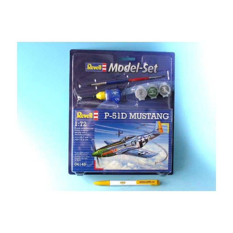 ModelSet letadlo 64148 - P-51D Mustang  (1:72)
