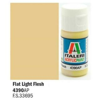 Italeri barva akryl 4390AP - Flat Light Flesh 20ml