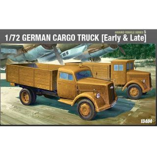 Model Kit military 13404 - GERMAN CARGO TRUCK E/L (1:72)