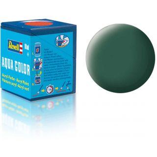 Barva Revell akrylová - 36139: matná tmavě zelená (dark green mat)