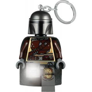 LEGO svítící klíčenka - Star Wars Mandalorian