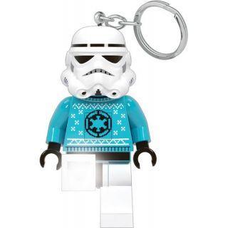LEGO svítící klíčenka - Star Wars Stormtrooper ve svetru
