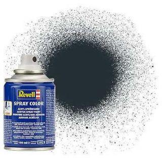 Barva Revell ve spreji - 34109: matná antracitová šedá (anthracite grey mat)