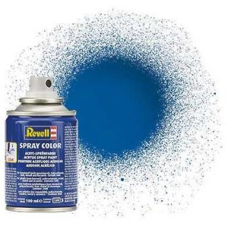 Barva Revell ve spreji - 34152: lesklá modrá (blue gloss)