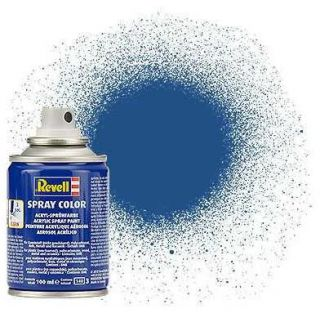 Barva Revell ve spreji - 34156: matná modrá (blue mat)