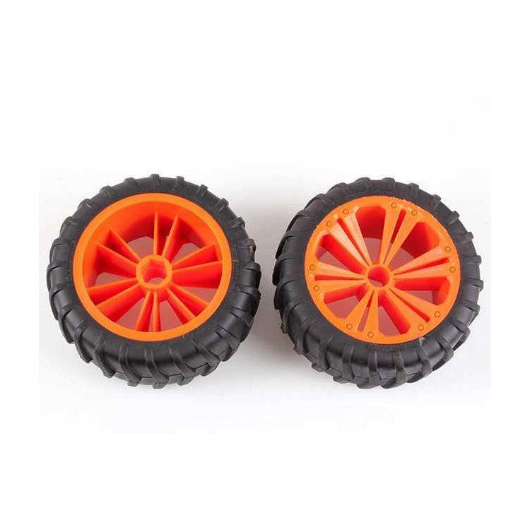 REVELL - REVELLUTIONS (47032) - Set 2x Wheel for Monster, orange