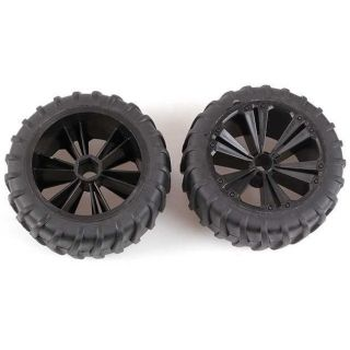 REVELL - REVELLUTIONS (47036) - Set 2x Wheel for Monster, black