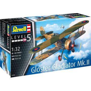 Plastic ModelKit letadlo 03846 - Gloster Gladiator Mk. II (1:32)