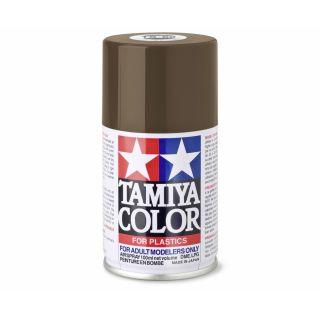 85069 TS 69 Linoleum Deck Brown Tamiya Color 100ml (Acrylic Spray Paint)