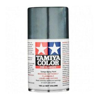 85100 TS-100 Semi-Gloss Bright Gun Metal Tamiya Color 100ml (Acrylic Spray Paint)