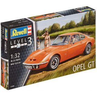 Plastic ModelKit auto 07680 - Opel GT (1:32)
