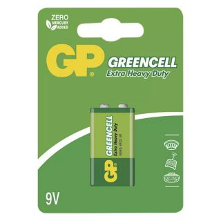 Batéria GP GREENCELL 9V /ks