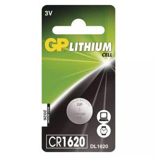 Lítiová gombíková batéria GP CR1620 /ks