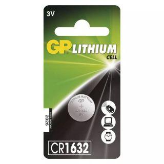 Lítiová gombíková batéria GP CR1632 /ks