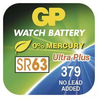 Gombíková batéria do hodiniek GP 379F /ks