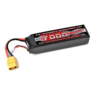 Power Racing 50C - 7000mAh - 3S - 11,1V - XT-90 - Semi-Soft case